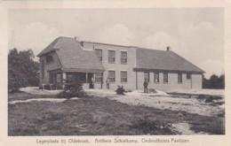 270373Legerplaats Bij Oldebroek. Artillerie Schietkamp. Onderofficiers Paviljoen. – 1933(rechterkant Een Vouw) - Holanda