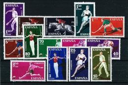 España Nº 1306/19 Nuevo Cat.10,65€ - 1951-60 Nuevos & Fijasellos