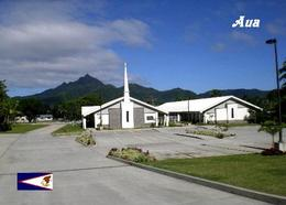 American Samoa Tutuila Island Aua Church New Postcard Amerikanisch-Samoa AK - Samoa Americana