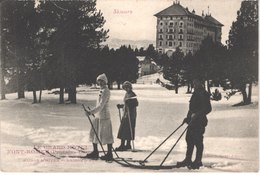 FR66 FONT ROMEU - Le Grand Hôtel - Skieurs - Animée - Superbe - Autres Communes