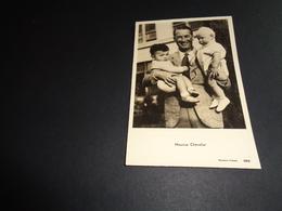 Artiste ( 101 )  Acteur De Cinema  Ciné  Film  Filmster  :  Maurice Chevalier - Acteurs