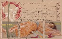 """Illustrateur ADOLFO HOHENSTEIN - Jolie Carte """"IRIS """"   (lot Pat 68) - Andere Zeichner"""