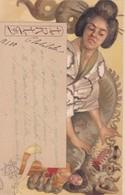 """Illustrateur ADOLFO HOHENSTEIN - Jolie Carte """"IRIS """" N°17  (lot Pat 68) - Andere Zeichner"""