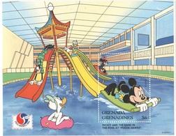 Disney Grenada & Grenadines Mickey And The Gang Series 1994  6$ SHEET MNH - Disney
