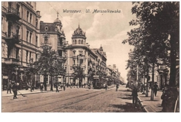 Pologne . N° 47300 . Warszawa.ul Marszaikowska.tramway - Poland