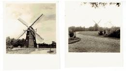 BOKRIJK - GENK - 2 Kleine Foto's - 7,2 X 6,2 Cm - Molen +/- 1959 - Genk