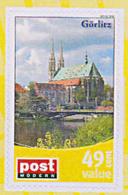 Görlitz Sachsen Stadt Kirche Brücke, Privatpost PM 40 Cent Postmodern ** Oder - Kirchen U. Kathedralen