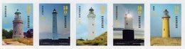 Denmark - 2019 - Lighthouses - Mint Self-adhesive Stamp Set - Neufs
