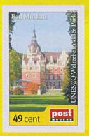 Weltkulturerbe Bad Muskau Pückler-Park UNESCO Postmodern Privatpost **, Wunschbriefmarke - Kirchen U. Kathedralen