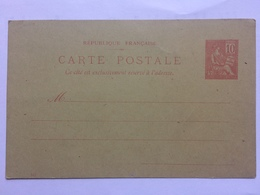 FRANCE Carte Postale - Postal Sttionary Card Unused - Postal Stamped Stationery