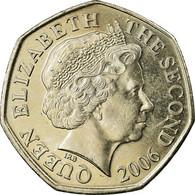 Monnaie, Jersey, Elizabeth II, 50 Pence, 2006, SUP, Copper-nickel, KM:108 - Jersey