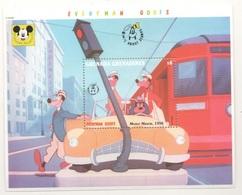 Disney Pluto Goofy Grenada & Grenadines Motor Mania Series 6$ SHEET MNH - Disney