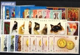 Rumanía Nº 5026/9, 5038/52, 5055/69 - Nuevos