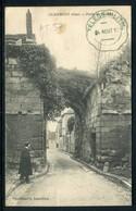 Cachet De Télégraphie Militaire Sur Carte Postale En 1917 - Réf AT 57 - Marcophilie (Lettres)