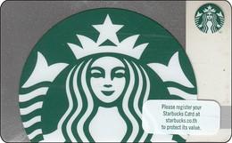 Thailand Starbucks Card Silver Sparkle Siren 2018 - 6165 - Gift Cards