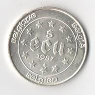 Belgique. Monnaie De 5 Ecu Charles Quint. 1987 - Belgique