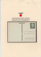 Britische Fälschung Für Das Generalgovernement - 1939-44: 2. WK