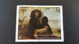 France Timbre NEUF Année 2019 Gustave Courbet - Francia