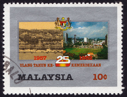 MALAYSIA 1982 10c 25th Anniversary Of Independence Sc#240 - USED @PM092 - Malaysia (1964-...)