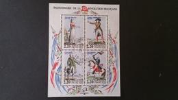 France Timbre Bloc N° BF10 Bicentenaire De La Révolution Année 1989 - Francia
