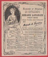 Rubans Lavables Tout Soie. Ruban. Marquise De Pompadour. 1911. - Publicités