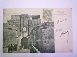 2019 - 2078  :  GRECE - RHÔDES  :  Porte Rouge Du Château   1904   - Greece
