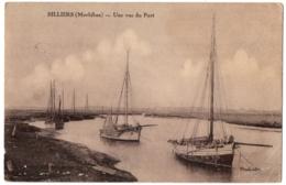 CPA 56 - BILLIERS (Morbihan) - Une Vue Du Port - Ed. Pinel - Other Municipalities