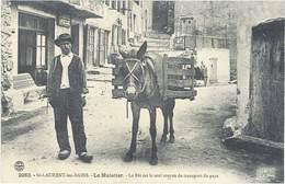 SAINT LAYRENT LES BAINS - Le Muletier - Le Bât Est Le Seul Moyen De Transport Du Pays - Ane   (896 ASO) - Other Municipalities