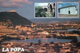 1 AK Kolumbien * Blick Auf Die Stadt Cartagena - Links Oben Das Kloster La Candelaria Auf Dem Berg La Popa - Luftbild * - Colombie