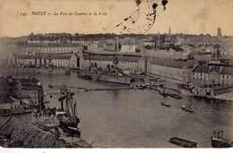 29 - BREST - Le Port De Guerre Et La Ville - - Brest