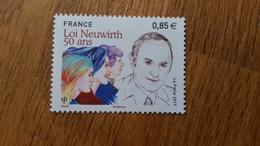 France Timbre NEUF N° 5121 Loi Neuwirh 50 Ans (année 2016) - Francia
