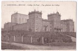 Godinne-s-Meuse Cpa Collège St-Paul  Vue Générale Du Collège - Yvoir