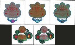 V)1976 TONGA, OLYMPIC GAMES MONTREAL, MNH - Tonga (1970-...)