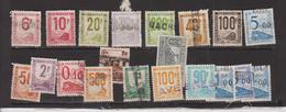 FRANCE Colis Postaux Petit Lot De Timbres Oblitérés  Cote 50 Euros - Paquetes Postales