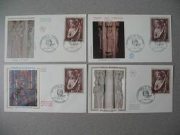 FDC France 1971   N° 1654 - 1970-1979