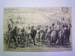 2019 - 2084  Zur Erinnerung An Die  Begründung Der Universität Zu Leipzig   1909   - Leipzig