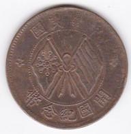 Chine Yunnan-Szechuan. 10 Cash (10 Wen) ND (1920) Cuivre, Y# 303 - China