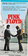 Pink Floyd En Concert 1977 Billet/Concert Carte/billet D'entrée - Tickets D'entrée