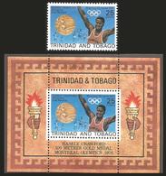 V)1976 TOBAGO,  OLYMPIC GAMES MONTREAL, HASELY CRAWFORD, MNH - Trinidad & Tobago (1962-...)