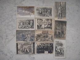 11 Cartes Photos Militaires  !!!!!! - Guerre 1914-18