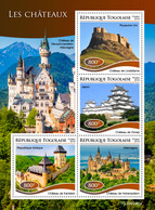 Togo. 2019 Castles. (0246a)   OFFICIAL ISSUE - Castles