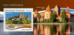 Togo. 2019 Castles. (0246b)   OFFICIAL ISSUE - Castles