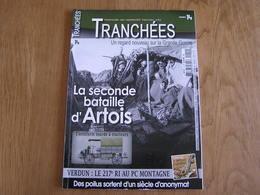 TRANCHEES N° 14 Guerre 14 18 Artillerie Lourde Tracteurs Bataille Artois Verdun Poilus Plessier De Roye Plémont Tiling - Guerre 1914-18