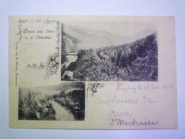 2019 - 2092  GRUSS  Aus  OKER  U. D.  OKERTHAL   1902    - Allemagne