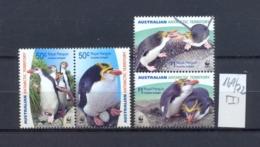 Austr. Antarktis -  169/72  WWF Haubenpinguin  Kompl. Postfrisch - Unused Stamps