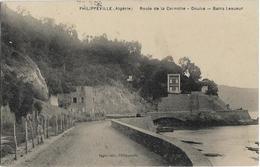ALGERIE - PHILIPPEVILLE - ROUTE DE LA CORNICHE - DOUÏRA - BAINS LESUEUR - - Andere Steden
