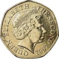 Monnaie, Jersey, Elizabeth II, 20 Pence, 2007, SPL, Copper-nickel, KM:107 - Jersey