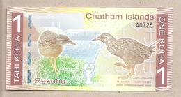 Chatham Islands - Banconota Di Fantasia Non Circolata FDS Da 1 Koha - 2013 - Non Classificati
