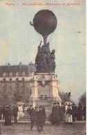 """75 - PARIS 17 ème - Monument Des Aeronautes De BARTHOLDI - CPA """" Toilée """" Colorisée - Seine - France"""