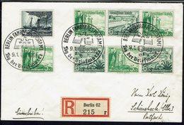 Allemagne - 1938 - Affranchissement Varié Sur Enveloppe Recommandée De Berlin Pour Schonebeck - TB - - Germania